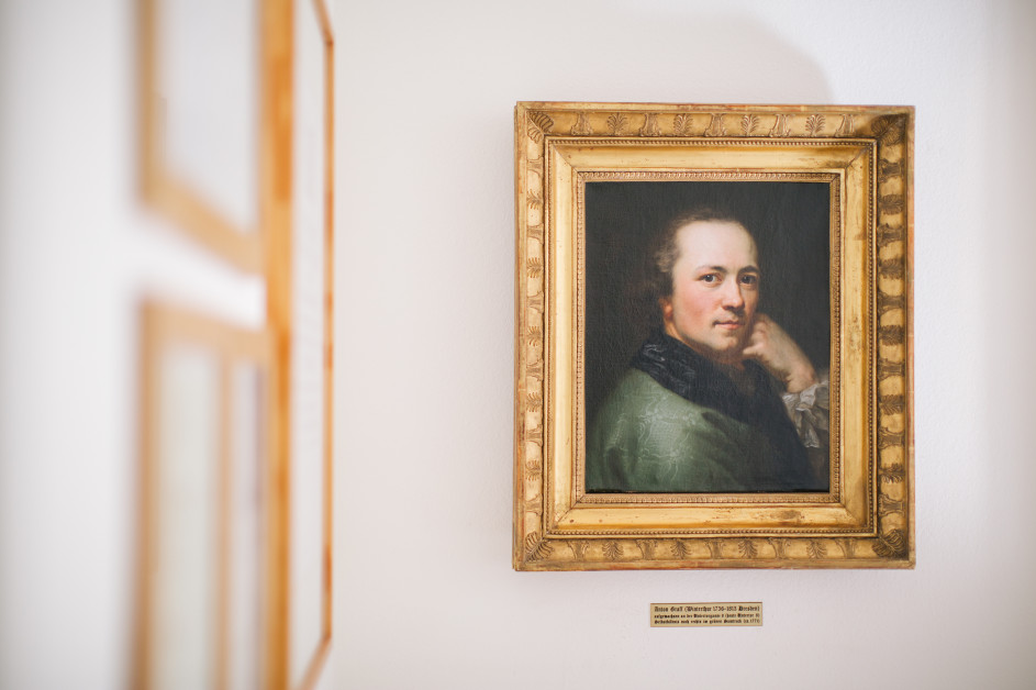 Selbstporträt von Anton Graff in der Steuerkanzlei Rolf Benz